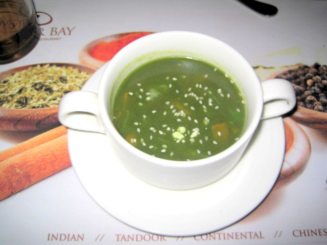 Pesto Italiano beg soup