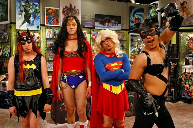 Who can forget this hilarious episode of TBBT! Entirely dedicated to the Comic Con!