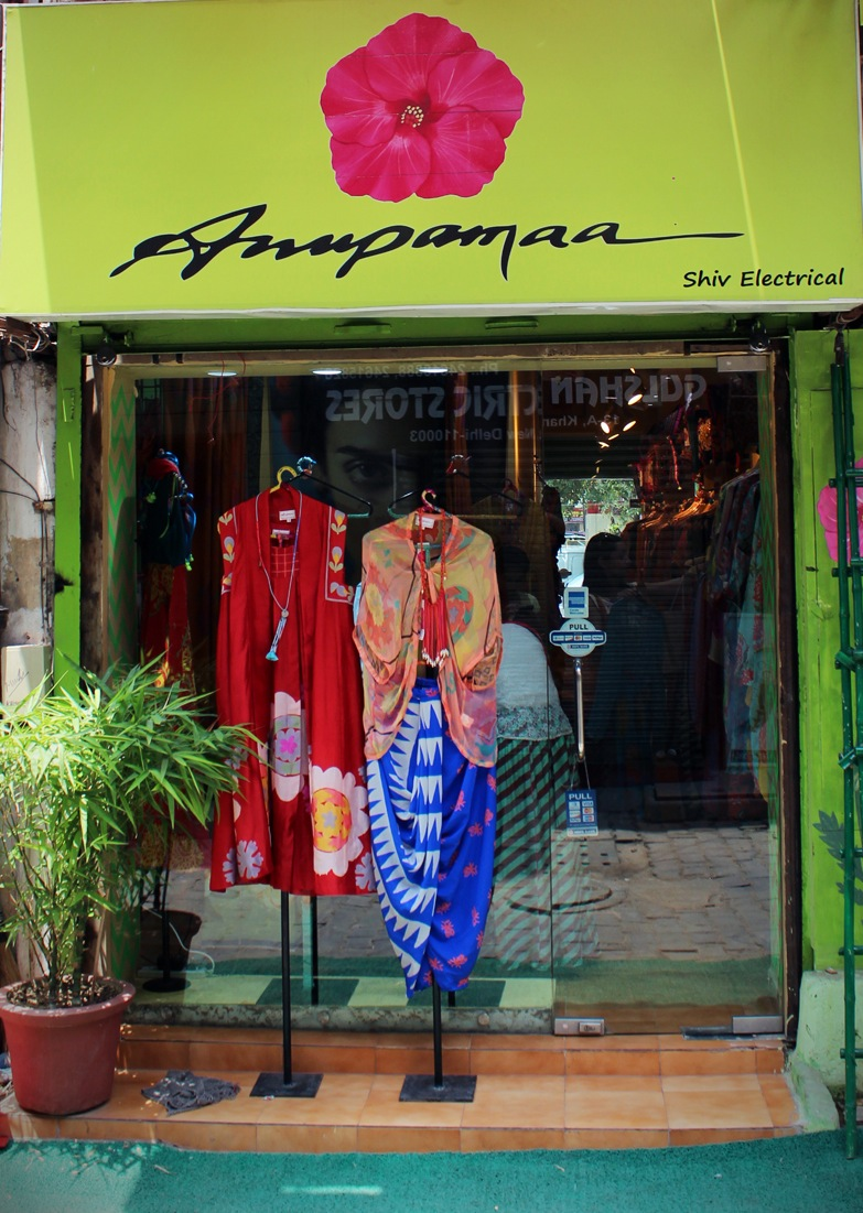 Anupama's new store at Khan Market, Delhi.